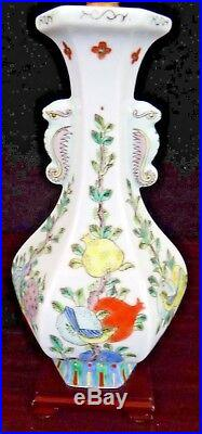 26 Pair Of Antique Chinese Porcelain Vase Lamps