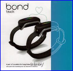 Bond Touch Pair (2 Bracelets) Stay In Touch With Loved Ones Long Distance