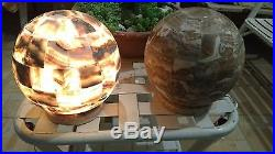 Onyx stone table Lamp (Pair of Lamps)