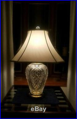 PAIR OF Waterford Kilkenny 29in Table Lamps ABSOLUTELY STUNNING