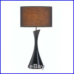PAIR Set of 2 Mid Century Modern Art Sculpture Table Lamps with Shades Bases Lot