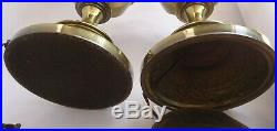 Pair Stiffel Brass Trophy Urn Table Lamps With 3-Way Lights