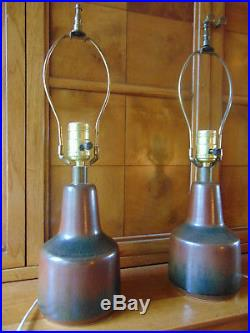 Pair of Lotte Bostlund Mid-Century Modern Table Lamps
